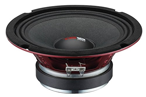 Great Price! DS18 PRO-X6M Loudspeaker - 6.5, Midrange, Red Aluminum Bullet, 450W Max, 225W RMS, 8 O...