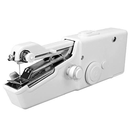 Naaimachines Elektronische Portable Huishoudelijke Mini Hand Naaimachine Quick steek te naaien Handwerken Cordless Kleding Fabrics ZHQHYQHHX (Color : A, Size : 1)