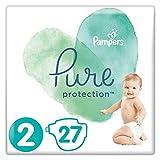 Pampers Pure Protection Größe 2, 27 Windeln, 4-8 kg