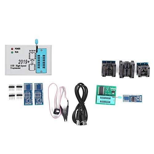 EZP2019 Soporte de Programador Interfaz USB 2,0, Programador de Adaptador Enchufe Módulo Programador USB Soporte SPI FLASH de Alta Velocidad 12MBPS
