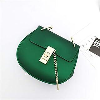 Adebie - Fashion Lady Crossbody Bag Matte Women Jelly Brand Designer Messenger Bag Mini Cute Female Summer Beach Chain Girl Shoulder Bag Green []