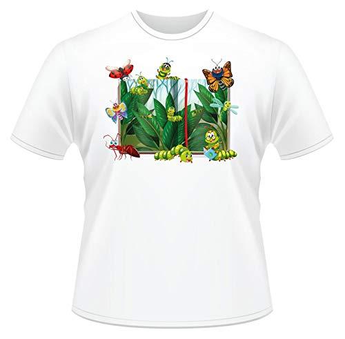 Bugs T-Shirt Boys Girls Kids Ideal Gift Cartoon Short Sleeve Cotton Tee Tops