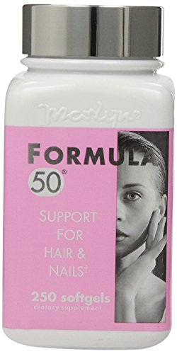 Formula 50 Support for Hair & Nails, 250 Softgels