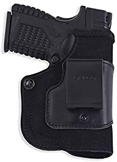 Stow-N-Go Inside The Pant Holster For Viridian w/ECR,Springfield XD-S 3.3in,Right Hand,Black
