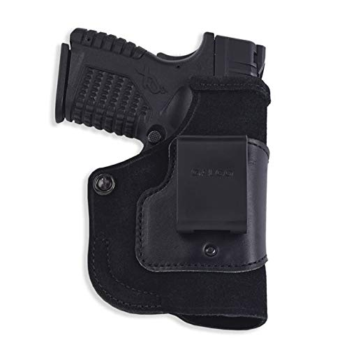 Galco Stow-N-Go Inside The Pant Holster For Viridian w/ECR,SW MP Shield,Right Hand,Black