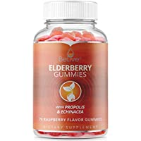 70-Piece BeLive Chewable Elderberry Gummies with Vitamin C