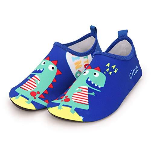 YWSZJ Wasserschuhe barfuß Quick-trockene Kinder Outdoor Aqua Socken Schuh Hausschuhe Baby Jungen Mädchen Tauchen Wating Beach Badeschuhe Kinder (Color : E, Size : 36-37)