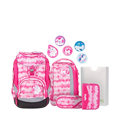 Ergobag 6-part Satchel Set Pinky Edition Pack Materiale sintetico 20 I