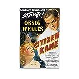 YBQQ Citizen Kane Filmposter, Retro-Kunstposter,