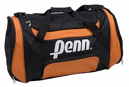 Penn reistas sporttas 62 x 32 x 33 cm zwart-oranje
