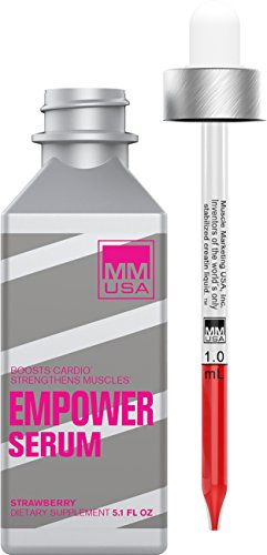 MMUSA EMPOWER SERUM Bodybuilding Supplement for Women. Level Up with a Liquid Creatine Pre-Workout Supplement with No Side-Effects. Build Muscles and Stamina, Recover Faster Powered by Amino Energy.