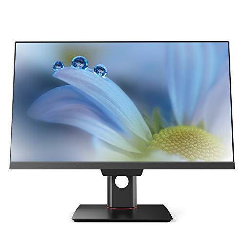 Lazmin Computadora de Escritorio Todo en uno de 23,8', Pantalla LED Full HD 1080P, CPU Intel i5‑3230M, SSD de 256 G Integrado, Unidad óptica, Wi-Fi, Windows 7(Enchufe de la UE)