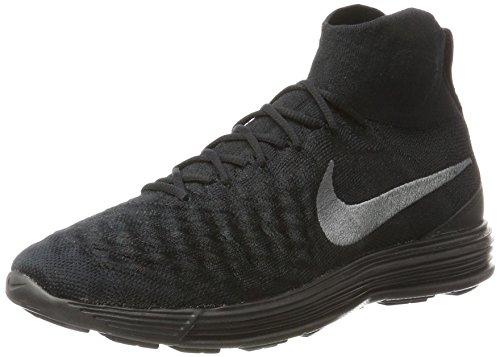 Nike heren Lunar Magista II Flyknit Sneaker, zwart (zwart zwart), 42 EU