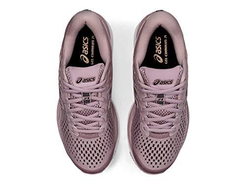 ASICS Women's Gel-Cumulus 21 Running Shoes, 9M, Watershed Rose/Rose Gold 7