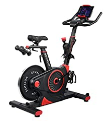 ECHELON EXPERIENCE: Live and on-demand studio fitness from the comfort and safety of home. Ride live with our supportive and energizing Echelon community and inspire each other to climb the leader board. FEATURES: Ergonomic handlebars - Adjustable co...