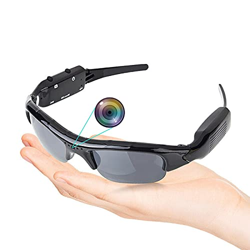 Mini óculos HD 1080P câmera oculta óculos óculos de sol Cam Eyewear DV DVR Spy