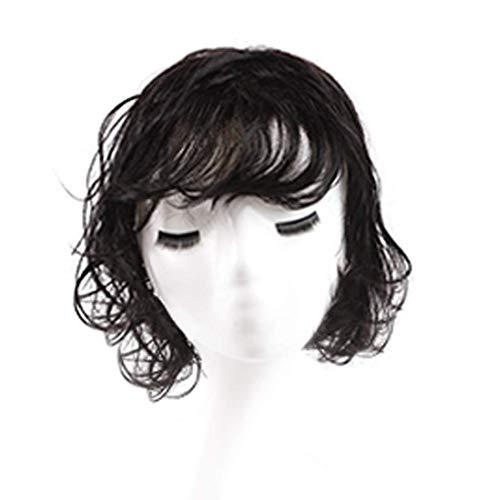 Topjin Womens 'transparente Décoration pour cheveux humains bouclés postiches Cheveux Top Extensions de cheveux