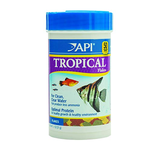 API TROPICAL FLAKES Fish Food 1.1-Ounce Container