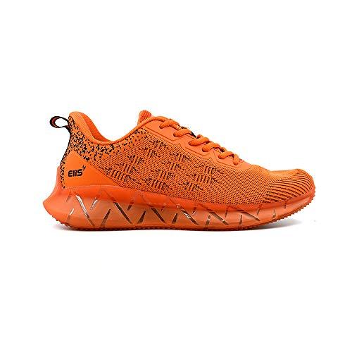 elis ElisCore, Zapatillas de Correr Hombre (Naranja/Negro, Numeric_41)