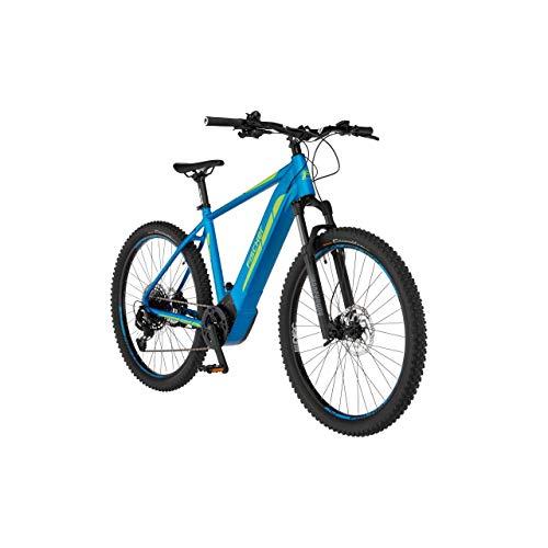 FISCHER E-Mountainbike MONTIS 6.0i Limited Edition, E-Bike MTB, blau matt, 29 Zoll, RH 51 cm, Brose Drive S Mittelmotor 90 Nm, 36 V Akku im Rahmen