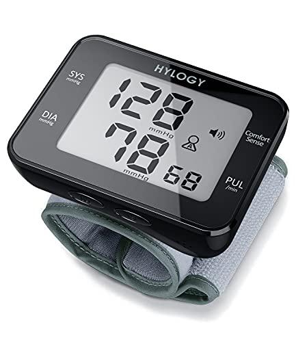 Misuratore di Pressione da Polso Digitale, Sfigmomanometro da Polso e Pulsazione Rilevazione Automatica, Grande Schermo LCD, 180 Posizioni di Memoria