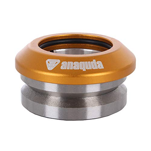 Anaquda V7 Stunt Scooter Headset Integrated Gold