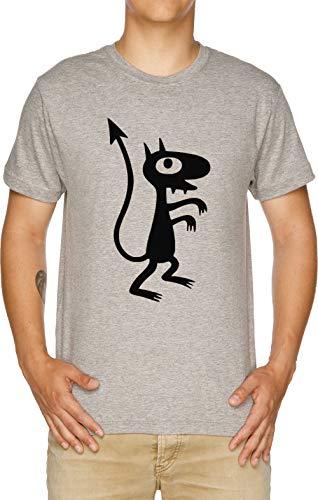 Vendax Luci - Luci Camiseta Hombre Gris