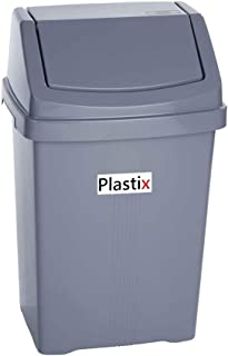 Small Recycling Bin Swing Lid Kitchen Waste Worktop Rubbish Can Bin SH