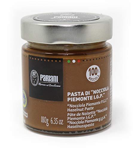 Pariani 100% Pure Unsweetened Hazelnut Paste from Italy 180 Gram