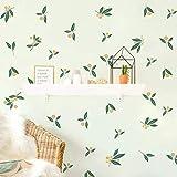 Runtoo Pegatinas de Pared Plantas Tropicales Stickers Adhesivos Vinilo Hojas Verde Decorativas Infantiles Dormitorio Salon Habitacion Bebe