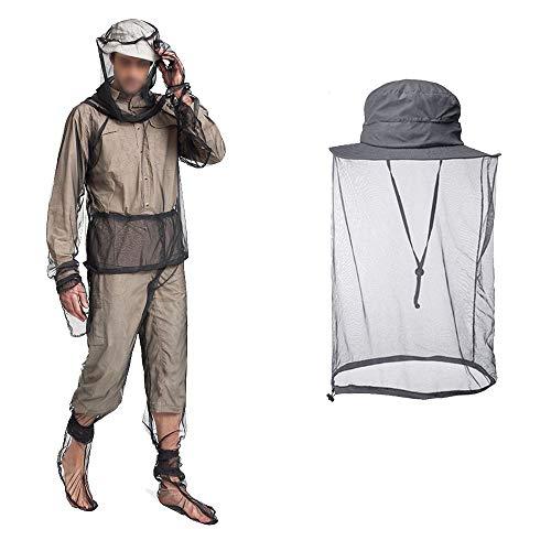 Anti Mosquito Netting Suit Hat, Bug Jacket Mesh Pants Mitt Socks, Sun Bucket Anti Bee Boonie Hat Cap Protector for Men Women Outdoor Hiking Fishing Gardening Beekeeper