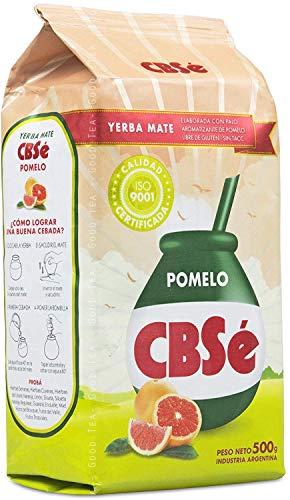 CBSé Yerba Mate Pomelo / Grapefruit - 500 g, Té Mate de Argentina