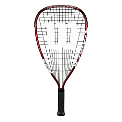 V-Matrix frame allows for extra string bed movement and greater power V-Matrix cross section for added stiffness providing more power and strength Ideal for recriational level racquetball Wilson is the Official racquet of USA Racquetball V-Matrix cro...