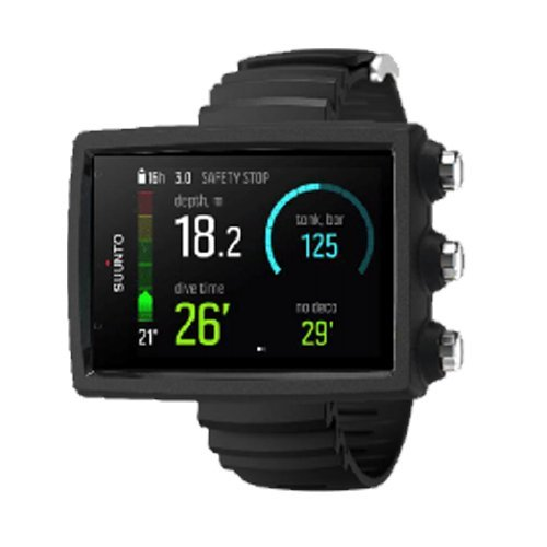 SUUNTO Eon Core Wrist Computer with USB, Eon Core Black, Without Transmitter