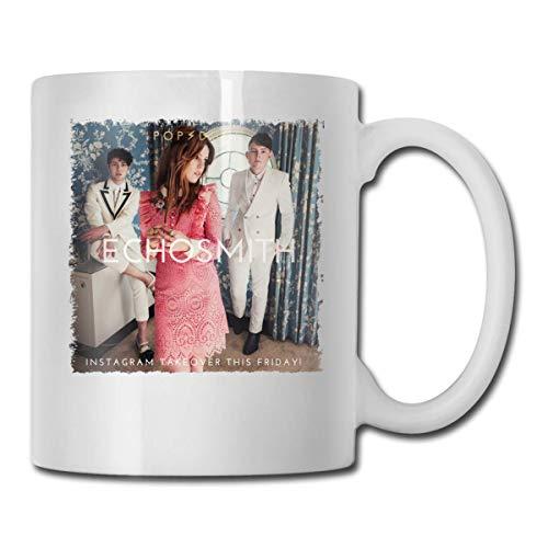 Lsjuee Echosmith Inside A Dream Las mejores ideas de regalos para el día del padre para tazas de café Taza de regalo de Navidad divertida Taza de bebida de personalidad 11