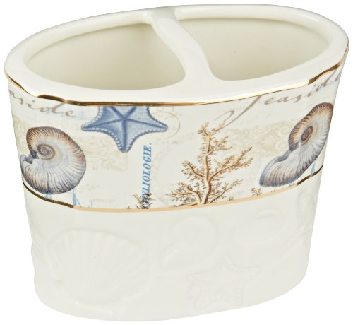 Avanti Linens Antigua Toothbrush Holder, Multi, Multi- Colored
