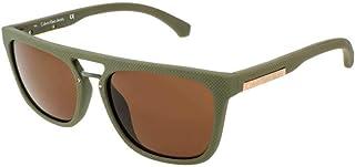 كالفن كلاين جينز نظاراة شمسية للرجال، بني