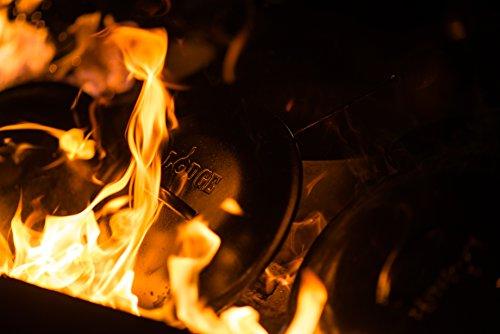 Lodge Cast Iron Deep Camp Dutch Oven, Pre-Seasoned, 5-Quart