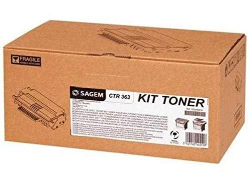 Sagem láser cartucho de tóner Alto Rendimiento Negro [para MF5482N] Ref CTR363L ✅