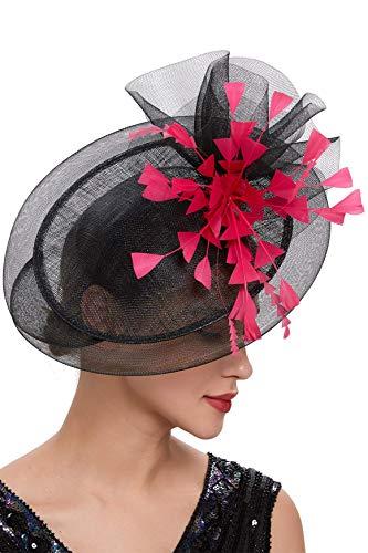 Wide Brim Fascinator Hat