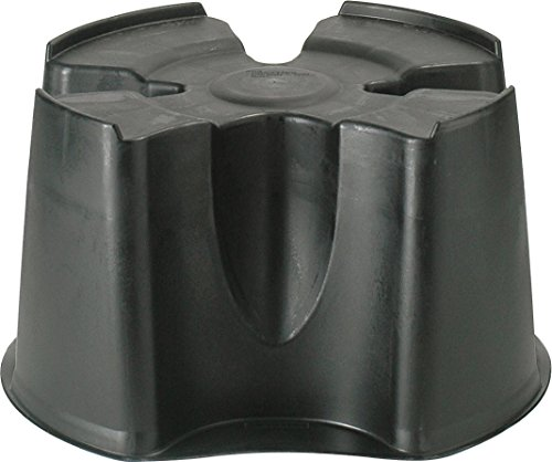 Worth Gardening by Garland Space Saver Water Butt (200ltr Water Butt Stand Black)