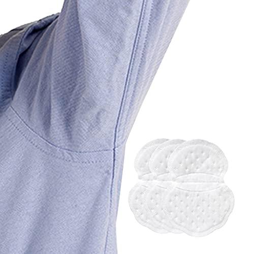 Verano Lucha Hiperhidrosis Almohadillas para El Sudor En Las Axilas [Paquete de 3] para Hombres y Mujeres Cómodas Escudos de Guardias de Vestimenta Desechables (Color : White, Size : One Size)