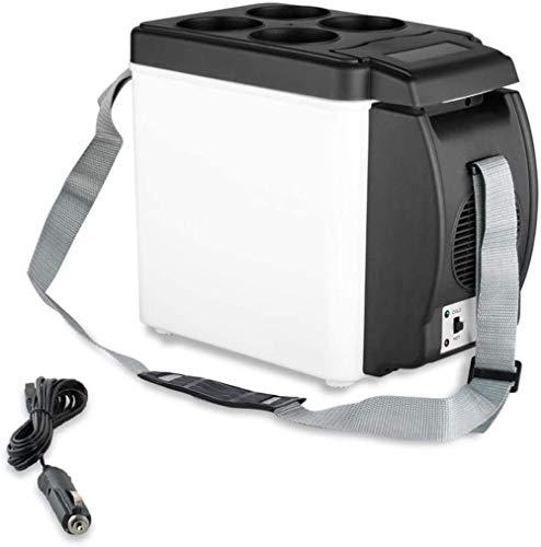 XUHRA Nevera portátil Coche más Fresco y Nevera 6L Coche eléctrico Mini refrigerador Caliente para el Recorrido