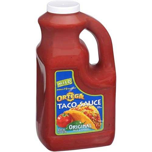 Ortega Taco Sauce 4 Case 1 Gallon
