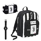 Juventus Schulrucksack mit Rucksack und Federmäppchen, inklusive gratis