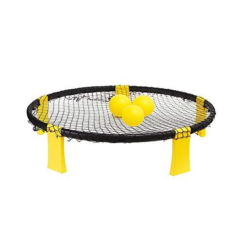 WJQ Standard-Volleyball-Set - Pvc3-Ballset Beiläufiges Sportspielzeug, Pumpen und Regeln sind aktiv und wettbewerbsfähig - Ideal für den Innen- und Außenbereich mit Kordelzug