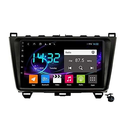 Android 10.0 Coche Estéreo Radio SAT FOR MAZDA 6 2007-2015 GPS Navigation 2 Din Head Unit MP5 Multimedia Video Player FM Bluetooth Receptor con 4G 5G WIFI SWC DSP Carplay,M200s