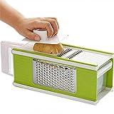 Grattugia manuale da cucina multifunzione 25.5cm * 11cm * 7cm * 9.5cm Verde