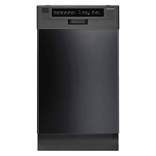 "Frigidaire FFBD1821MB Built-In Dishwasher 18"" Black- Refurbished"