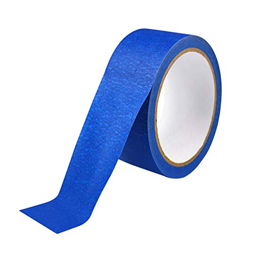 UKCOCO 45mmx30M Painters Tape Masking Clean Easy Removal Grip Cover Taper for 3D Printers (Blue)